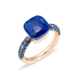 POMELLATO NUDO MEDIUM DEEP BLUE TOPAZIO LONDON/LAPISLAZULI
