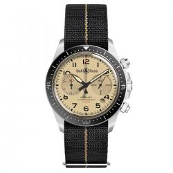 BELL & ROSS BR V2-94 MILITARY BEIGE 41MM