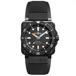 BEL & ROSS BR03-92 DIVER BLACK CERAMICS MATTE 42MM
