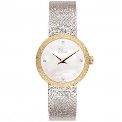 D DE DIOR 25MM SATINE GOLD DIAMONDS