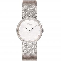 D DE DIOR 36MM SATINE DIAMONDS