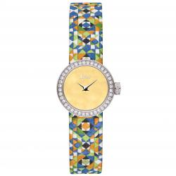 D DE DIOR 19MM MOSAÏQUE YELLOW DIAMONDS