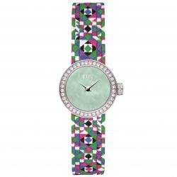 D DE DIOR 19MM MOSAÏQUE GREEN DIAMONDS