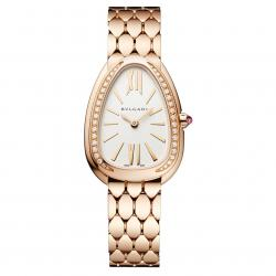 BULGARI SERPENTI SEDUTTORI 33MM PINK GOLD DIAMONDS