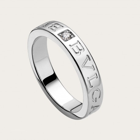 BULGARI BULGARI WHITE GOLD-DIAMONDS RING