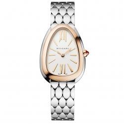 BULGARI SERPENTI SEDUTTORI 33MM PINK GOLD BEZEL