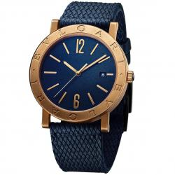 BULGARI BULGARI 41MM BLUE BRONZE