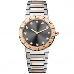 BULGARI BULGARI LADY 33MM PINK GOLD DIAMONDS