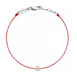 RED LINE ALTESSE BRACELET ROUGE DIAMANTS