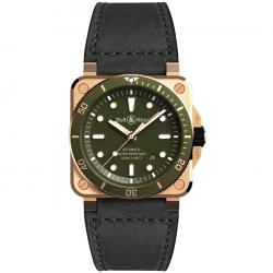 BELL & ROSS BR 03-92 DIVER BRONZE 42MM