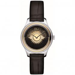DIOR VIII GRAND BAL PLUME NOIR 36MM DIAMONDS