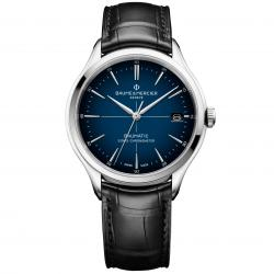 BAUME MERCIER CLIFTON BAUMATIC BLUE CHRONOMETER 40MM