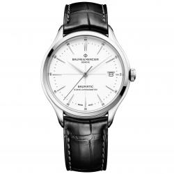 BAUME MERCIER CLIFTON BAUMATIC WHITE CHRONOMETER 40MM