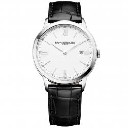 BAUME MERCIER MY CLASSIMA WHITE 40MM