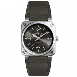 BELL & ROSS BR03-92 GREY LUM 42MM