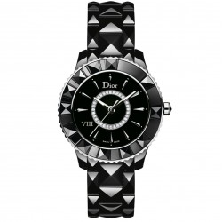 DIOR VIII 33MM BLACK DIAMONDS