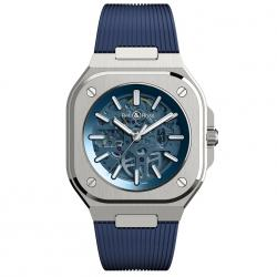 BELL & ROSS BR05 SKELETON BLUE 40MM LTD EDITION 500 PCS