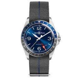 BELL & ROSS BR V2-93 GMT BLUE 41MM