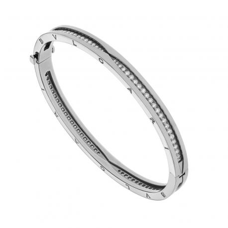 BULGARI BZERO1 WHITE GOLD BRACELET DIAMONDS