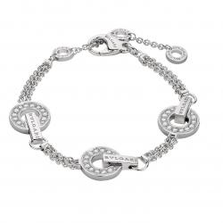 BULGARI BULGARI WHITE GOLD BRACELET DIAMONDS