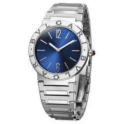 BULGARI BULGARI 33MM BLUE DIAL