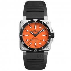 BELL & ROSS BR03-92 DIVER ORANGE 42MM