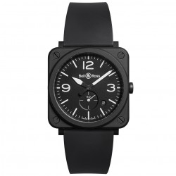BELL & ROSS AVIATION BR S BLACK MATTE 39MM