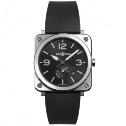 BELL & ROSS AVIATION BR S STEEL 39MM