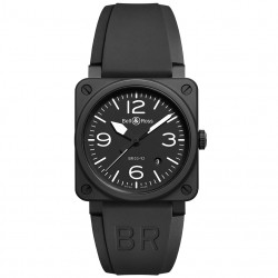 BELL & ROSS AVIATION BR03-92 BLACK MATTE 42MM