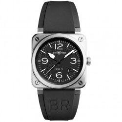 BELL & ROSS AVIATION BR03-92 STEEL 42MM