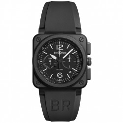 BELL & ROSS AVIATION BR03-94 BLACK MATTE 42MM