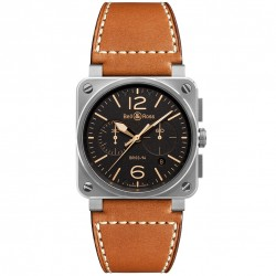 BELL & ROSS AVIATION BR03-94 GOLDEN HERITAGE 42MM