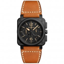 BELL & ROSS AVIATION BR03-94 HERITAGE CHRONO 42MM