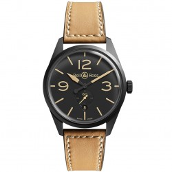 BELL & ROSS VINTAGE BR123 HERITAGE STEEL 41MM