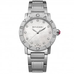 BULGARI BULGARI 33MM DIAMONDS