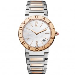 BULGARI BULGARI 33MM PINK GOLD