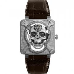 BELL & ROSS BR01 LAUGHING SKULL 46MM