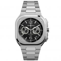 BEL & ROSS BR05 BLACK CHRONO 42MM