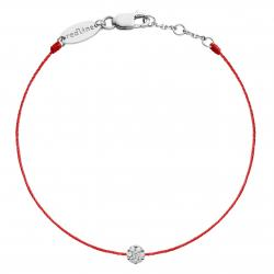 RED LINE ILLUSION BRACELET ROUGE OR BLANC DIAMANT