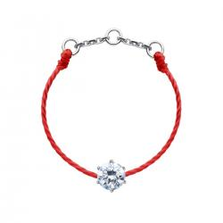 RED LINE ABSOLU BAGUE ROUGE OR BLANC DIAMANTS