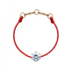RED LINE ABSOLU BAGUE ROUGE OR ROSE DIAMANTS