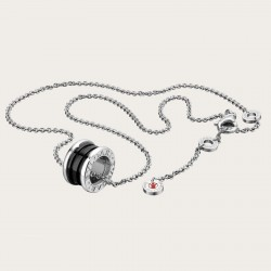 BULGARI BZERO1 SAVE THE CHILDREN SILVER PENDANT