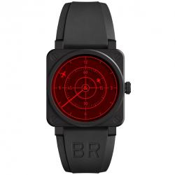 BELL & ROSS BR 03-92 DIVER RED RADAR LIMTED EDITION 42MM