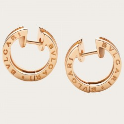 BULGARI BZERO1 PINK GOLD EARRINGS