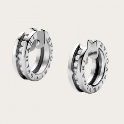 BULGARI BZERO1 WHITE GOLD DIAMONDS EARRINGS