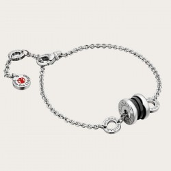 BULGARI BZERO1 SAVE THE CHIILDREN SILVER BRACELET