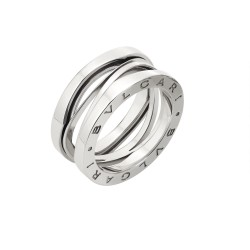 BULGARI BZERO1 ZAHA HADID WHITE GOLD RING