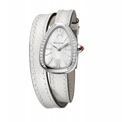 BULGARI SERPENTI SKIN 27MM DIAMONDS