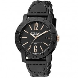 BULGARI BULGARI CARBONGOLD 40MM BLACK
