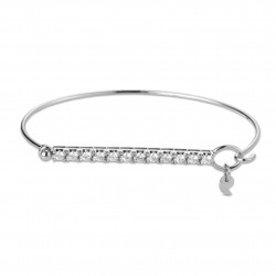 CERVERA TWISTED WHITE GOLD BRACELET